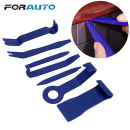 auto plastic fastener clips 2019 - FORAUTO 7 Pieces set Car Repair Tool Kit Auto Car Radio Panel Fastener Interior Door Clip Universal Hard Plastic cheap a