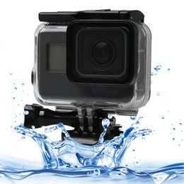 gopro hero dive housing NZ - For GoPro NEW HERO  HERO6  5 Black Touch Screen 60m Underwater Waterproof Housing Diving Protective Case with Buckle Basic Mount & Screw,