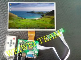vga lvds controller UK - Raspberry Pi 3 LCD display 9 inch AT090TN12 TTL LVDS Controller driver Board HDMI VGA 2AV 50PIN VS-TY2662-V1 For Pcduino Banana