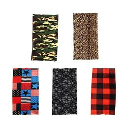 Discount thick headbands - Outdoor Winter Warmer Riding Thick Warm Collars Bandanas Headband Mask Buffe Headscarf Cover