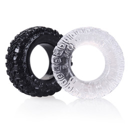 $enCountryForm.capitalKeyWord NZ - 2 pair lot Male Penis Rings Delaying Ejaculation Silicone Tyre Sex Rings Sex Toys for Women Men B2-2-79