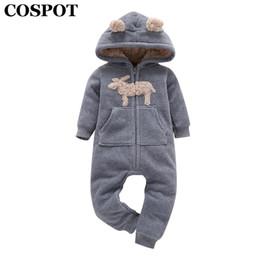 Unicorn Costume Newborn Baby Kids Girl Romper Fleece Jumpsuit Outfits One-pieces