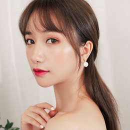 $enCountryForm.capitalKeyWord Australia - Women Fashion Alloy Shell Earrings Delicate Contracted Teardrop-Shaped Earrings Top Quality Factory Direct Supply Free Shipping