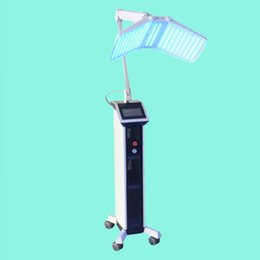 Red light face lamps online shopping - Korea Portable OMEGA Light led pdt Therapy Red Blue Green Yellow Face body Light Phototherapy Lamp facials Machine facial rejuvenation