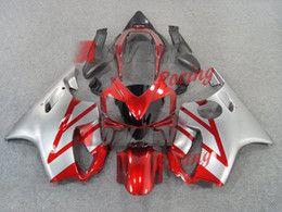 F4i Silver Red Australia - New Injection Mold ABS motorcycle fairings kit fit for Honda CBR600F4i CBR600 FS F4i 2004 2005 2006 2007 04 05 06 07 cool red silver