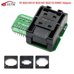 Box Volvo Australia - 2019 RT-BGA169-01 BGA169   BGA153 EMMC Adapter V2.1 With 3pcs BGA bounding box For RT809H Programmer