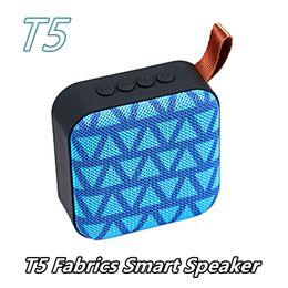 $enCountryForm.capitalKeyWord NZ - New T5 Cloth Net Subwoofers Bluetooth Speaker Outdoor Protable Loudspeaker Radio Card USB Flash Player Hands-Free Voice Calls Speakers