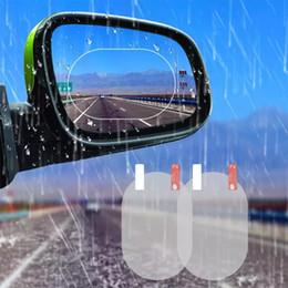 $enCountryForm.capitalKeyWord Australia - 2PCS Car Mirror Window Clear Film Anti Dazzle Car Rearview Mirror Protective Film Waterproof Rainproof Anti Fog Car Sticker