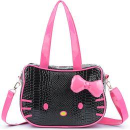 19f7473ac Reusable Shopping Bag Travel Shopper Woman Handbag Hello Kitty Bag Eco Grocery  Tote Leather Fabric Bags torba na zakupy B34