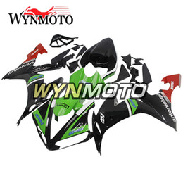 $enCountryForm.capitalKeyWord Australia - Motorcycle Fairings For Yamaha YZF 1000 R1 2004 2005 yzf 1000 r1 02 03 ABS Plastic Injection motorbike Green Black cowlings covers