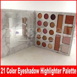 $enCountryForm.capitalKeyWord Australia - New Eye Makeup Matte Eyeshadow Highlighter Palette 21 Color Natural Long Lasting Corrector Eye Shadow Palettes