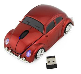 Cars Wholesale Prices Australia - 2.4GHZ Wireless Mini Car Shape Mouse Mice Fashional For Computer Notebook Cheap Price High Quality