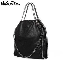 $enCountryForm.capitalKeyWord NZ - Nigedu Women Bag Pu Leather Fashion Chain Women's Messenger Shoulder Bags Bolsa Feminina Carteras Mujer Handbags Women's Totes Y190124