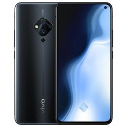 "Original Vivo S5 4G LTE Cell Phone 8GB RAM 128GB ROM Snapdragon 712 Octa Core 6.44"" Full Screen 48MP Fingerprint ID Face Smart Mobile Phone"