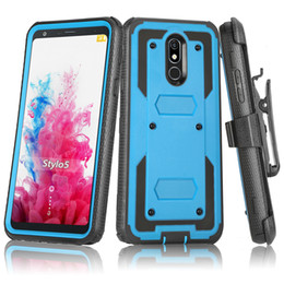 $enCountryForm.capitalKeyWord Australia - For Motorola T-Mobile REVVLRY Plus Heavy Duty Shockproof Holster swivel Belt Clip Rotatable Kickstand Defender Phone Case