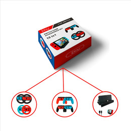 $enCountryForm.capitalKeyWord NZ - For Nintend switch 10 in 1 Game Accessory kit including Controller Grip + Steering Wheel + Charge Dock + USB Type-C Cable r20