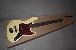 Bass fingerBoard online shopping - 2019 new arrival creamy bass guitar rosewood fingerboard High quality guitar custom shop