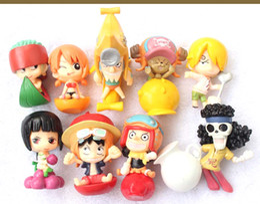 $enCountryForm.capitalKeyWord Australia - Anime One Piece Figure Ace Shanks Monkey D Luffy Action Figures Master Star Piece MSP Zoro Sanji PVC Collectible Model Doll Toys