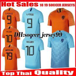 2018 2019 Nederland soccer jerseys V.PERSIE 18 19 uniform Holland home  MEMPHIS SNEIJDER ROBBEN VIRGIL WIJNALDUM Netherlands football shirt 97bb92023