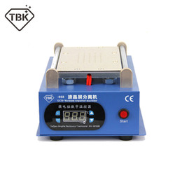 $enCountryForm.capitalKeyWord Australia - TBK-988 lcd screen 7 inch lcd separating with built-in vacuum pump touch screen separator machine for mobile phone repairing