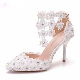 HigH Heels tassel sandals online shopping - Tassel Women Shoes Thin Heels  Pointed Toe Sandals White 85b405cdb2ab