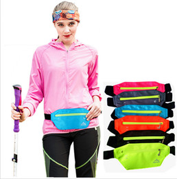China Running Belt Waist Pack Waterproof Runners Belt Fanny Pack Adjustable Running Bag Pouch for Outdoor Traveling Hiking Cycling Fitness FFA2531 cheap cycling fanny pack waist bag suppliers