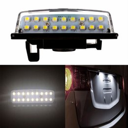 $enCountryForm.capitalKeyWord Australia - 2pcs Car LED Number License Plate Light 12V SMD LED Lamp for Nissan Versa Note Tenna J31 Maxima Cefiro Altima Rogue Car Styling