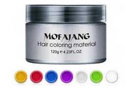 $enCountryForm.capitalKeyWord Australia - Mofajang hair wax for hair styling Mofajang Pomade Strong style restoring Pomade wax slicked 120pcs mixed colors