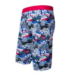 081dad7327a55 2019 Ropa de playa de verano para hombres Traje de baño de secado rápido  Troncos largos de natación Traje de baño para hombre Calzado con estampado  de ...