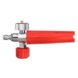 Snow Foam Lance For Karche High Pressure Foam Gun Cannon All Plastic Portable Foamer Nozzle Car Washer Soap Sprayer on Sale