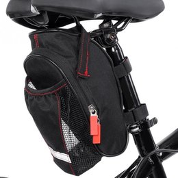 $enCountryForm.capitalKeyWord Australia - Cycling Bicycle Rear Seat Tail Saddle Bags Rainproof Road Bike Rear Bags with Water Bottle Mesh Pocket Bike Accessories #695912