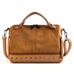 adba1a6cb77 good quality Womens Rivet Handbags Brand Luxury Large Big Shoulde Bags  Vintage Female Pu Leathermessenger Bag Winter Casual Tote Bolsa