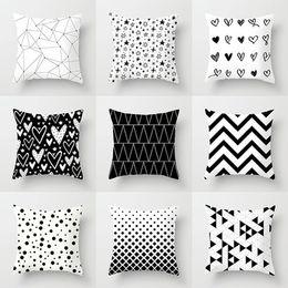 Cushion Cover Table & Sofa Linens 65x65cm Classic Plaids Cotton Linen Soft Large Size Decorative Square Pillow Covers 2018 Christmas New Arrival Hot Sale Street Price
