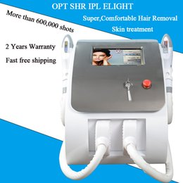 beauty salon lamps Canada - UK imported lamp laser facial hair removal IPL elight skin rejuvenation 300,000 shots 7 filters for salon SHR OPT laser beauty euiqpment