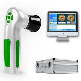 2019 NUOVO 12MP usb iris iridologia telecamera per iridoscopio con telecamera per l'iridoscopio digitale per la diagnosi della salute in Offerta