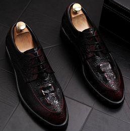 $enCountryForm.capitalKeyWord Australia - British carve patternsDerby Oxford lace-up shoes men business suits custom-made wedding shoes genuine leather men's dress shoes a28