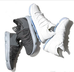056e332c1f7af5 KD 10 Multi-Color Oreo Numbers BHM Igloo men basketball shoes kd 10 X Elite  Mid kevin durant Sport Sneakers