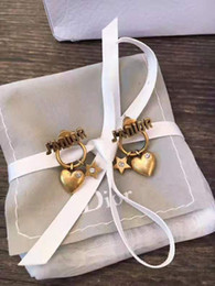 New Luxury women pearl Earrings Classic letters Ear men Earring Gold Silver Jewelry Accessories High quality Hot fashion Gift for Girls on Sale