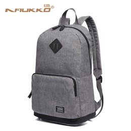 Backpacks For College Men Australia - Kaukko Men School Bags Backpack Student Bag College High School Bags For Teenagers Canvas Travel Bag Laptop Backpack