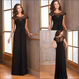 1d69fec6be70 2019 Scoop Short Lace Mother Of The Bride Dresses Formal Long Maxi Women  Special Occasion Evening Party Gowns Vestidos De Prom Dress
