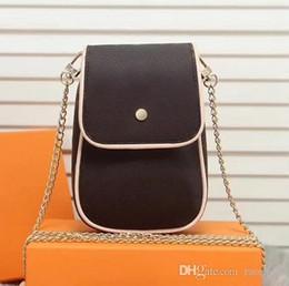 $enCountryForm.capitalKeyWord Australia - 2018 New Handbag Fashion Women Super Cute Mini Shell Mobile Phone Bag Flower Single Shoulder Slung Ladies Bag Chain Small Bag