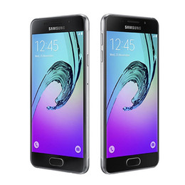 android phones accessories NZ - Original Samsung Galaxy A5 2016 A5100 Octa Core 2GB 16GB 5.2 Inch 13MP Dual Sim 4G LTE Android Refurbished Unlocked Cell Phone
