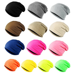 China Women Men Stylish Thin Hip-hop Soft Stretch Knit Slouchy Beanie Hat Skull Cap Cotton Beanie supplier stylish skull caps suppliers