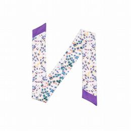 $enCountryForm.capitalKeyWord Australia - ELENI&ANNIE 34 Inch New Design Hair Wrap,Slim Scarf,Bag Band,Neck Tie, Bowtie, Handbag Skinny Scarf,Nieckerchief, Hat Ribbon