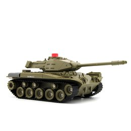 helicopter military UK - RC Tank Q85 Charger Battle Launch Military Tracked Tank Remote Control Car RC Vehicle Model Hobby Boy Toys for Children