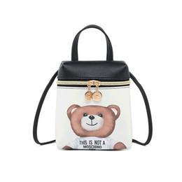 Mini feMale backpack online shopping - Cartoon Women Messenger Bag High Quality Cross Body Bag PU Leather Mini Female Shoulder HandBag Bolsas Feminina