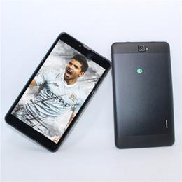Phablet Gps Quad Australia - Glavey Phone Call Tablet PC 1GB+16GB 7 inch SC7731 Android 5.1 Phablet quad Core WIFI GPS Bluetooth FM g-sensor+ good screen