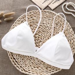 Toptan satış Zarif Sutyen Küçük Sapanlar Sexy Lingerie Rahat Tel Ücretsiz Iç Çamaşırı Kadın Yaz Bras Kadınlar Için Dikişsiz Bralette
