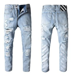 $enCountryForm.capitalKeyWord Australia - 2019 Summer New Man Up Jeans Washing In Waist Small Straight Foot Trousers###101