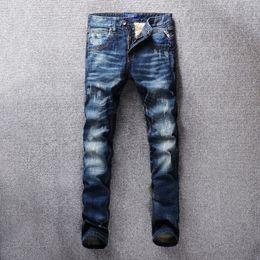 $enCountryForm.capitalKeyWord Australia - 2019 New Spring cotton Jeans Men High Quality Brand Casual Denim trousers soft mens pants men's fashion Large Big size 40